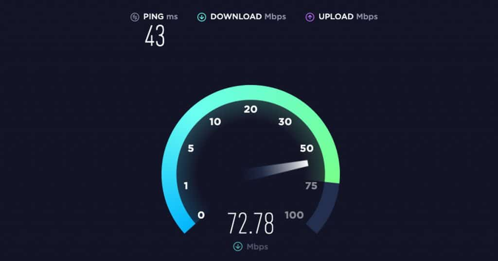 Where to do an Internet speed test